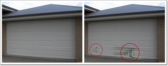 Garage Door Panel Replacement Chattanooga Metro Area